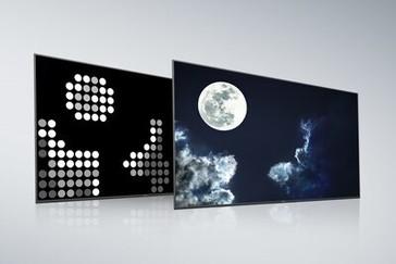 Ecran și panou posterior Sony Full Array LED cu X-tended Dynamic Range PRO
