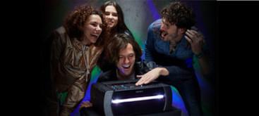 Imagine cu Sistem audio personal de mare putere cu DVD