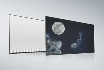 Ecran și panou posterior tip LCD cu margini