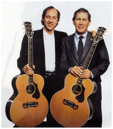 Image result for chet atkins & mark knopfler