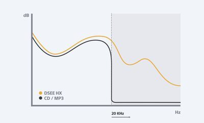 Grafic conversie ascendentă DSEE HX