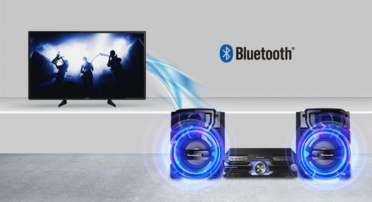 Аудио система Panasonic SC-AKX710E-K, 2.0, 2000W RMS, 2-канален ...