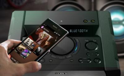 Sistem audio pentru acasă cu NFC şi Bluetooth®