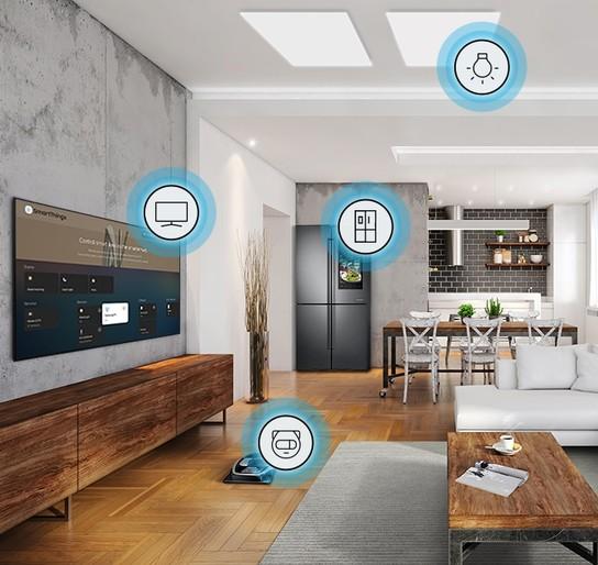 Bucură-te de o viață inteligentă, la tine acasă, cu QLED