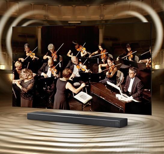 Televizorul și soundbar-ul într-o armonie perfectă
