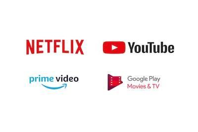 Mai multe aplicații decât pe orice alt televizor inteligent