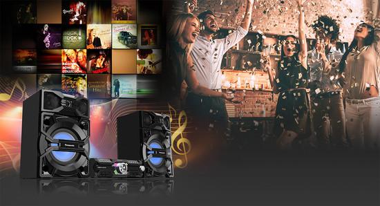 Аудио система Panasonic SC-MAX3500EK SC-MAX3500EK - ниска цена от ...