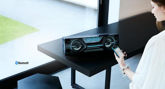 Microsistem SC-UA3E-K, 300W, FM, CD, USB, Bluetooth, negru ...