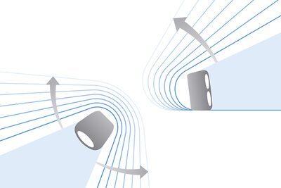 Diagramă a modului în care funcționează LIVE SOUND