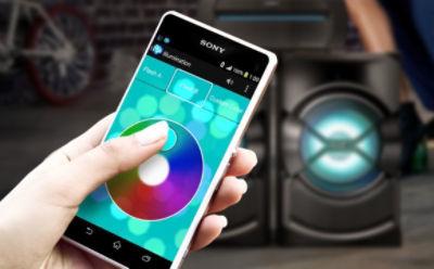 Aplicaţia Fiestable pentru sistemul audio de acasă