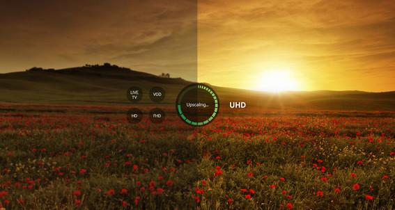 Optimizați rezoluția conținutului pentru o calitate mai intensă a imaginii