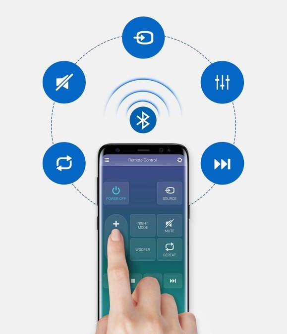 Aplicația Telecomandă Samsung Audio