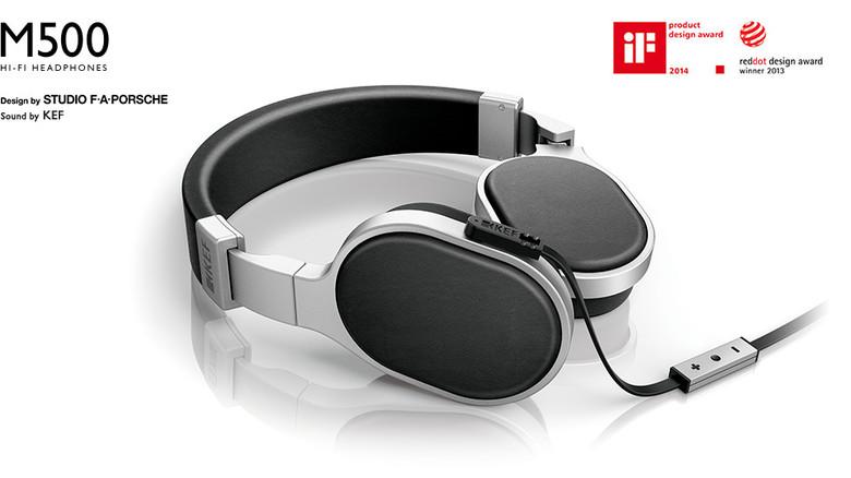KEF M500 Hi-Fi Headphones - Reddot Design Award Winner