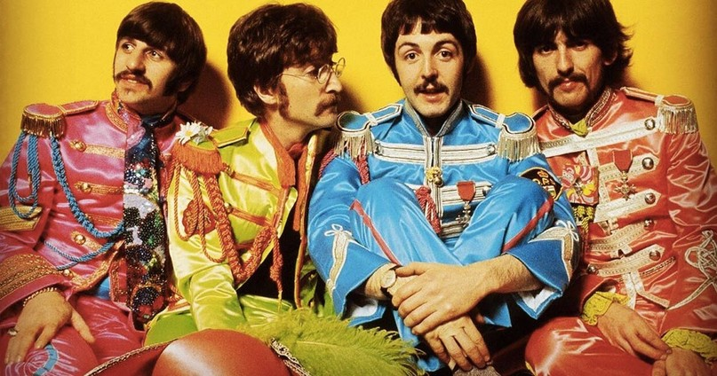 Image result for beatles sgt pepper