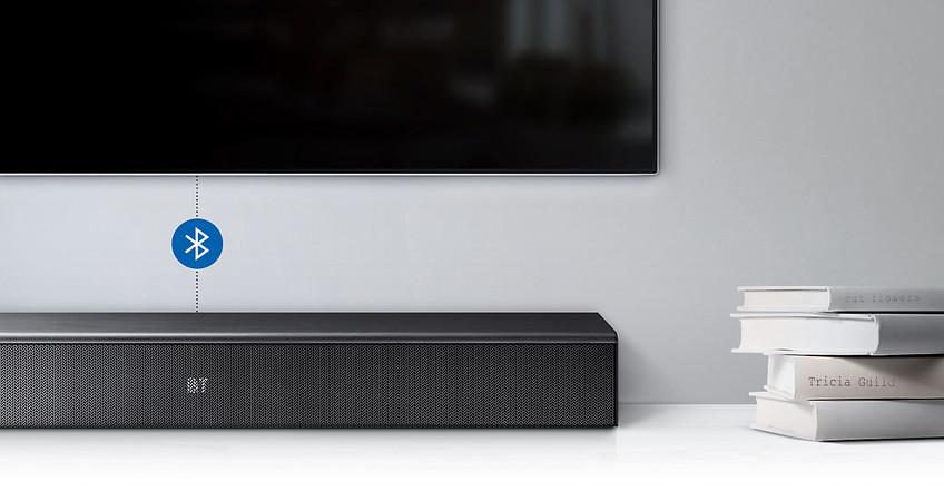 Conexiune wireless cu televizorul.